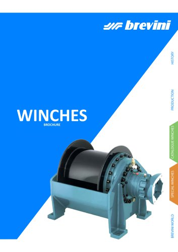 Winches overview