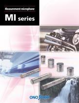 MI series Measurement microphone