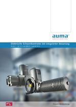 Elektrische Schwenkantriebe mit integrierter Steuerung SG 05.1 ? SG 12.1 mit AM 01.1 und AC 01.2 Produkt-