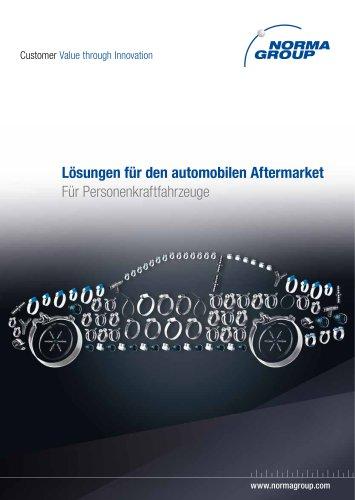 Lösungen für den automobilen Aftermarket - Personenkraftfahrzeuge