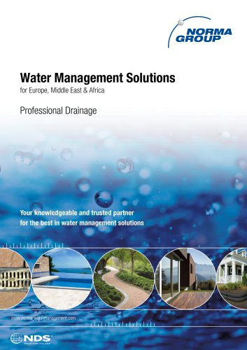 Water Management Solutions - Professional Drainage