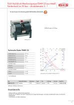 Druckluft-Membranpumpen FDM - 11
