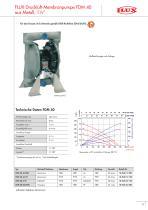 Druckluft-Membranpumpen FDM - 13