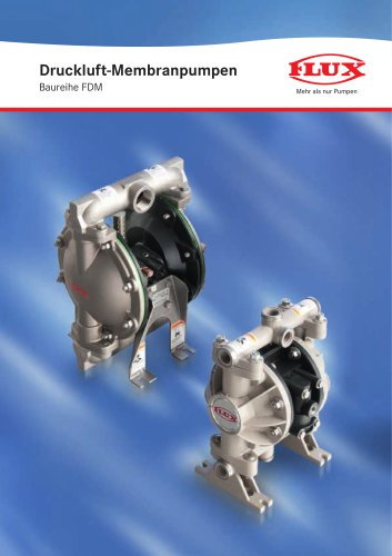 Druckluft-Membranpumpen FDM