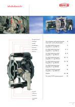 Druckluft-Membranpumpen FDM - 3