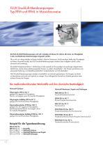 Druckluft-Membranpumpen RFM-RFML - 2