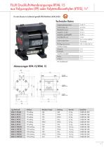 Druckluft-Membranpumpen RFM-RFML - 7