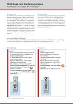 Fasspumpen und Containerpumpen - für niedrigviskoser Medien - 6