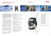FLUX Druckluft-Membranpumpen FDM - 2