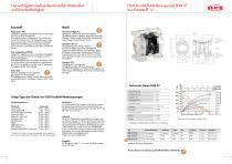 FLUX Druckluft-Membranpumpen FDM - 3