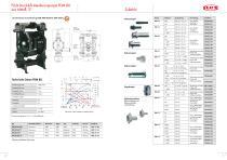 FLUX Druckluft-Membranpumpen FDM - 9