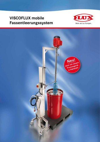 FLUX Fassentleerungssystem VISCOFLUX mobile