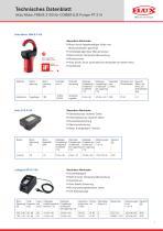 FLUX Fasspumpe COMBIFLUX FP 314 Datenblatt - 1