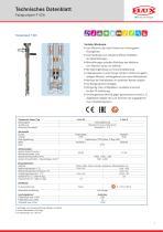 FLUX Fasspumpe F 426 Datenblatt - 1