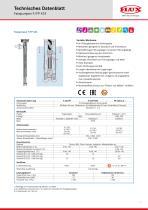 FLUX Fasspumpe F/FP 424 Datenblatt - 1