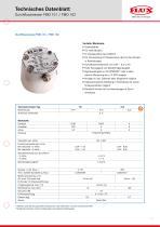 FLUX Ovalradzähler FMO 101 Datenblatt - 1