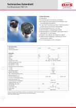 FLUX Ovalradzähler FMO 104 Datenblatt - 1