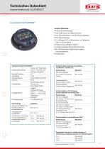 FLUX Ovalradzähler FMO 110 Datenblatt - 3