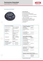 FLUX Ovalradzähler FMO 150 Datenblatt - 3