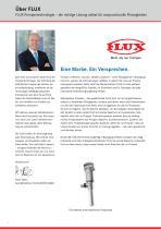 FLUX Pumpen-Set 99,98 % Fassentleerung Baureihe 400 - 2