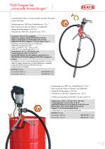 FLUX Pumpen-Set für Laugen - 9