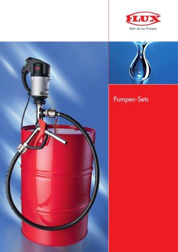 FLUX Pumpen-Set für leicht brennbare Medien