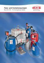 FLUX Pumpen-Set für Mineralölprodukte Baureihe 400 - 1