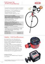 FLUX Pumpen-Set für Säuren - 10