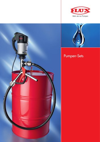 FLUX Pumpen-Set für Säuren