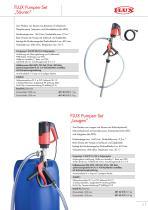 FLUX Pumpen-Set für Säuren - 5
