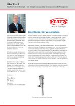 FLUX Pumpen-Set für Säuren Baureihe 400 - 2