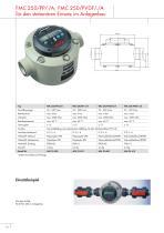FLUX Taumelscheibenzähler FMC 250 - 10