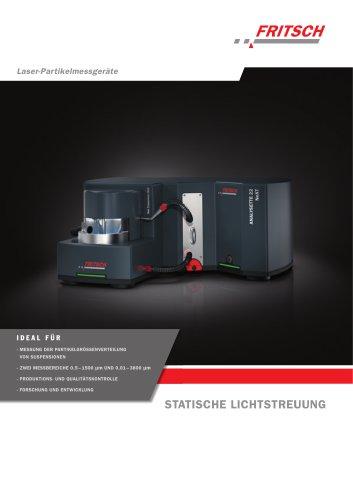 Laser-Partikelmessgeräte ANALYSETTE 22 NeXT