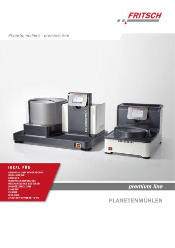 Planetenmühlen premium line