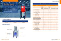 VFG-CY interceptor to be used by matching with industrial vacuum cleaners