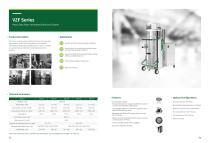 VZF Series Heavy Duty Pulse Jet Industrial Vacuum Cleaner