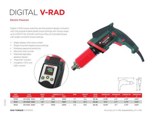 Digital V-RAD (Imperial)