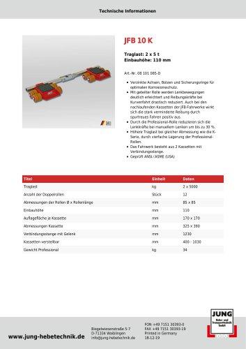 JFB 10 K Produkt Details