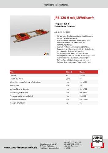 JFB 120 H Produkt Details