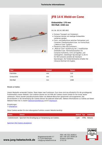 JFB 14 K WOC Produkt Details