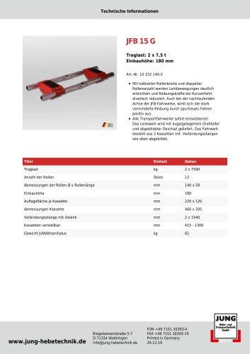 JFB 15 G Produkt Details