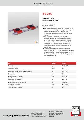 JFB 20 G Produkt Details