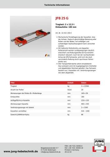 JFB 25 G Produkt Details