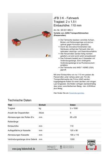 JFB 3 K Produkt Details