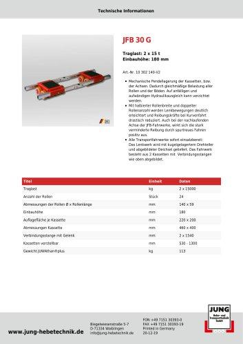 JFB 30 G Produkt Details
