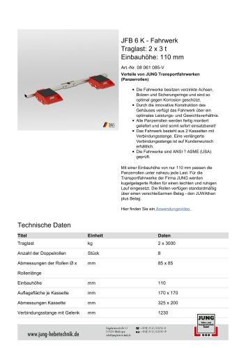 JFB 6 K Produkt Details