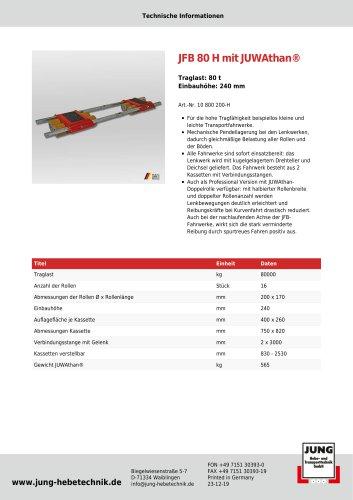 JFB 80 H Produkt Details