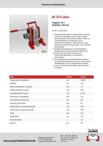 JH 10 G plus Produkt Details