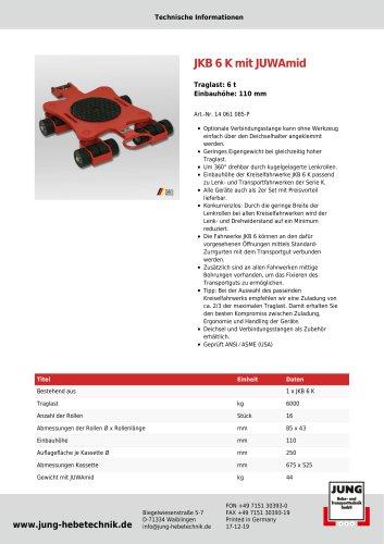 JKB 6 Produkt Details