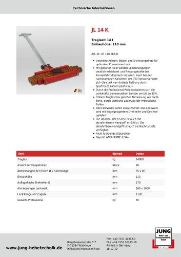 JL 14 K Produkt Details